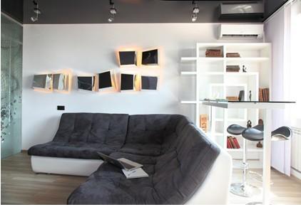 时尚单身主义的单身公寓
