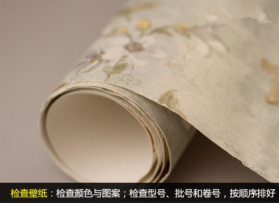 自主装修扮靓美家 壁纸墙纸铺贴全攻略