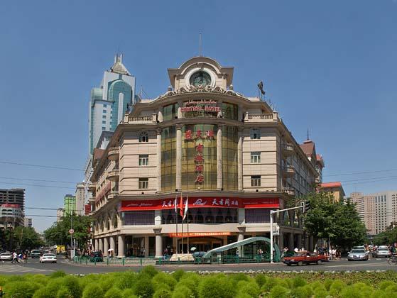 其欧式建筑风格与现代设施融为一体