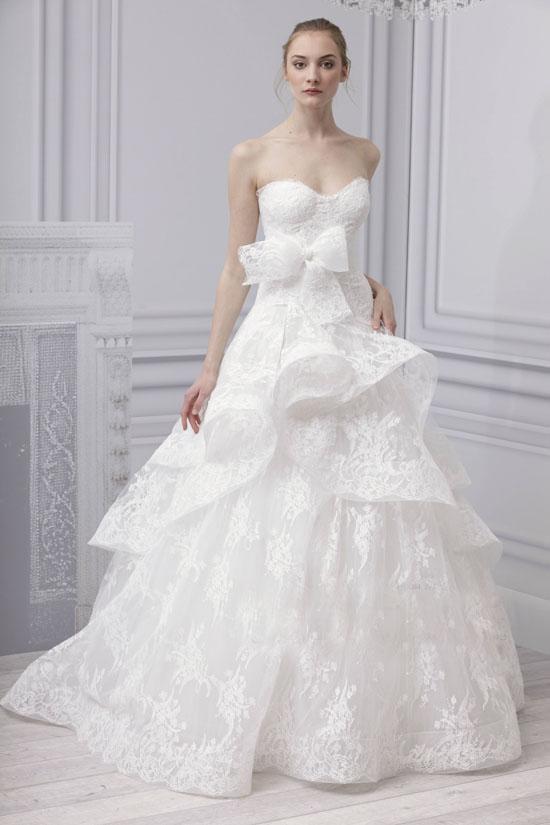 2013年婚纱流行款