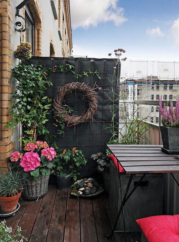 阳台 风景 意境 桌面