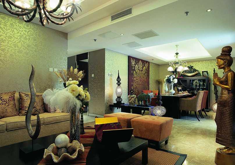 公寓A型东南亚风格样板房
