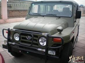 蒙城北京汽车 北京吉普212系列绿色战士气度不凡高清图片