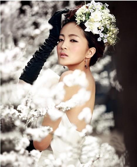 冬季型婚纱照