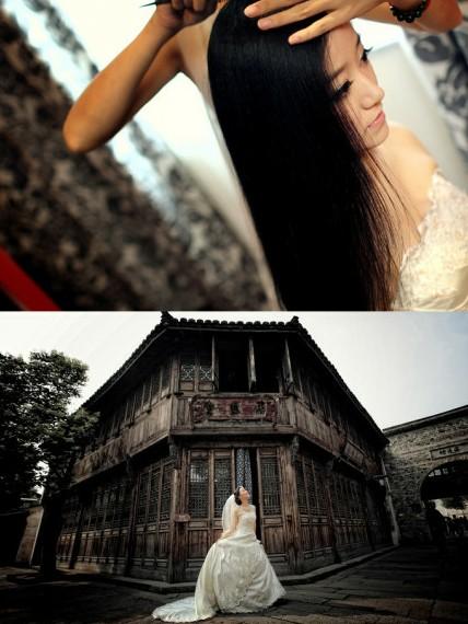 江南水乡中式婚礼 见证浪漫温情
