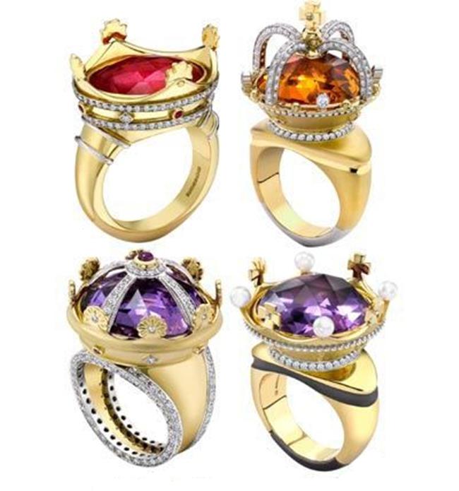 皇冠造型戒指 展现霸气女王范儿