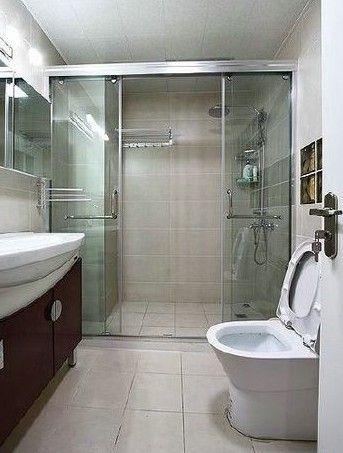 简单实用的小户型卫生间
