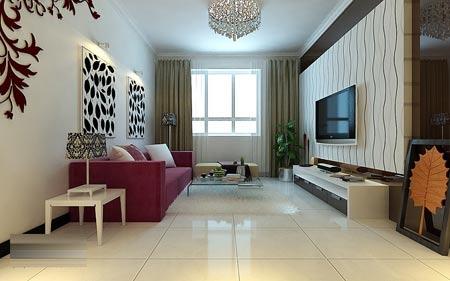 客厅小户型的简约现代客厅