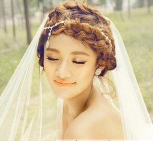 2013最美新娘发型推荐