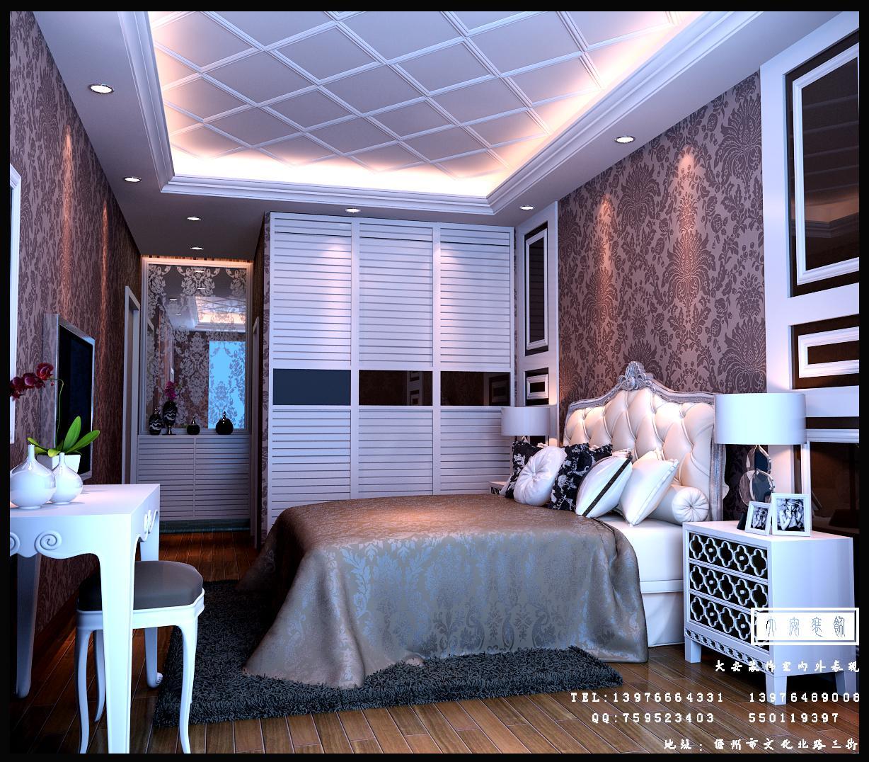 三亚某小区客厅及卧室