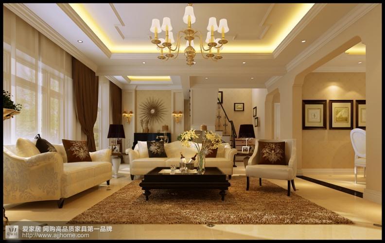 简约而纯洁的田园之家 150平 三房两厅