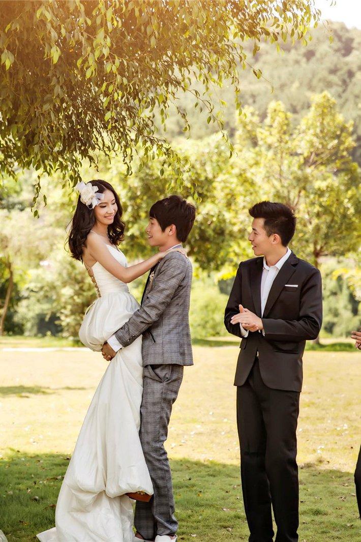 全新创意婚纱照