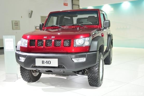硬派SUV新选 北汽B40