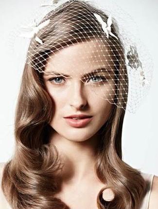 推荐六款仙气儿十足的新娘发型