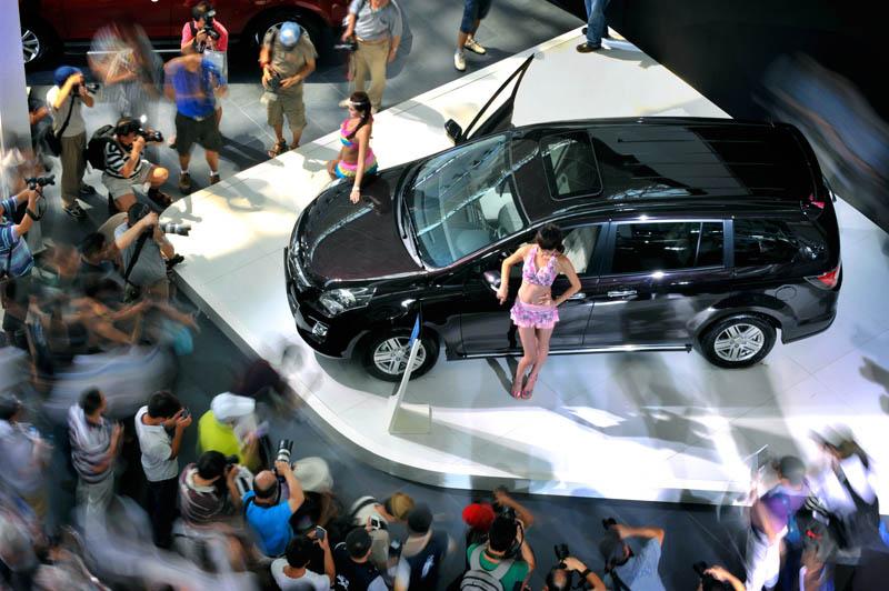 2013扬子晚报国际汽车展摄影大赛参赛作品