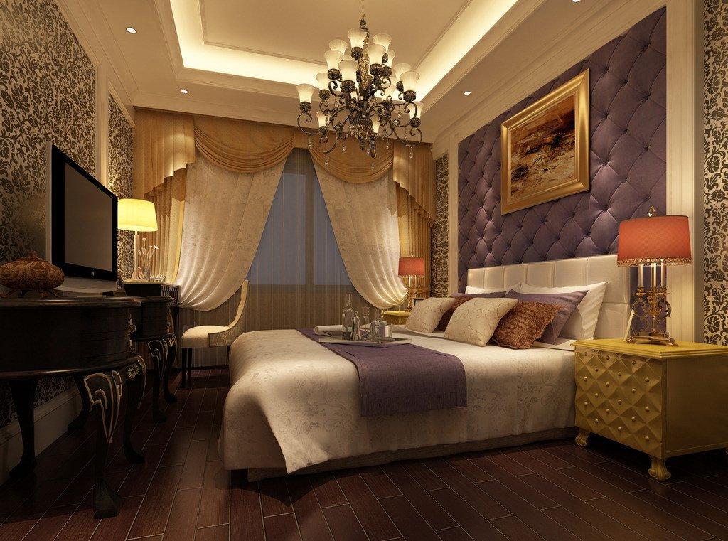 欧式卧室设计效果图_家居街