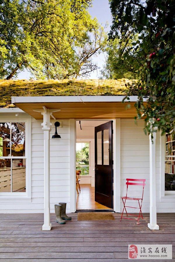 享受美好生活 美国乡村的迷你别墅
