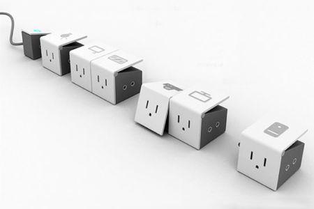 家中多用插座勿�^度使用