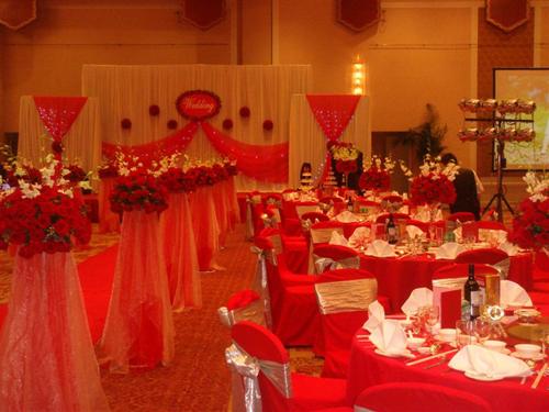 谈谈红色在青岛中式婚礼中的各种实用应用