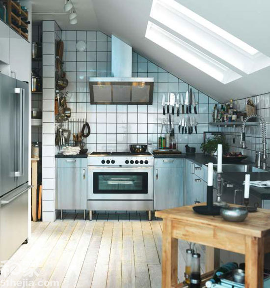 2013厨房餐厅效果图