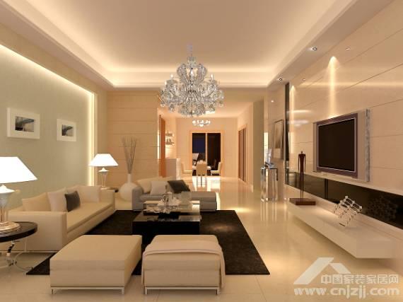 现代简约――客厅温馨暖意