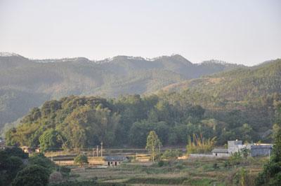 陆川谢山嶂风景图片