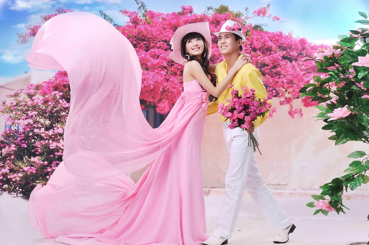2013年流行婚纱照风格