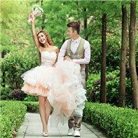 青白江国际名店巴黎婚纱最新外景主题展示