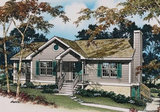 【农村平房屋设计图】农村一层房屋设计图
