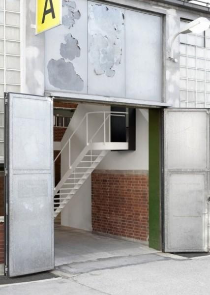 老厂房改造的办公空间