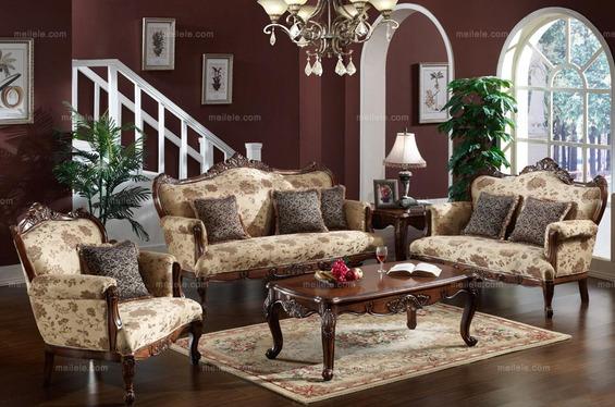 124平三居室美式风格装修