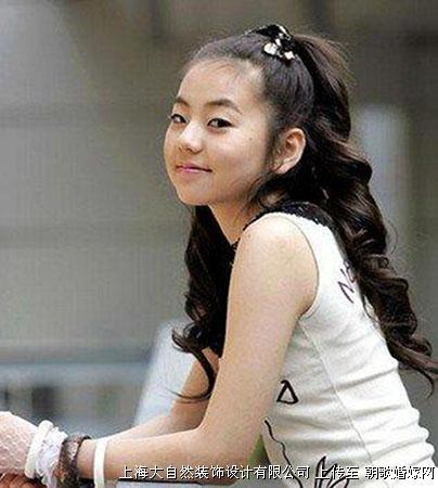 好看的小眼睛女生刘海发型
