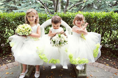 花童礼服 可爱的迷你婚礼芭比