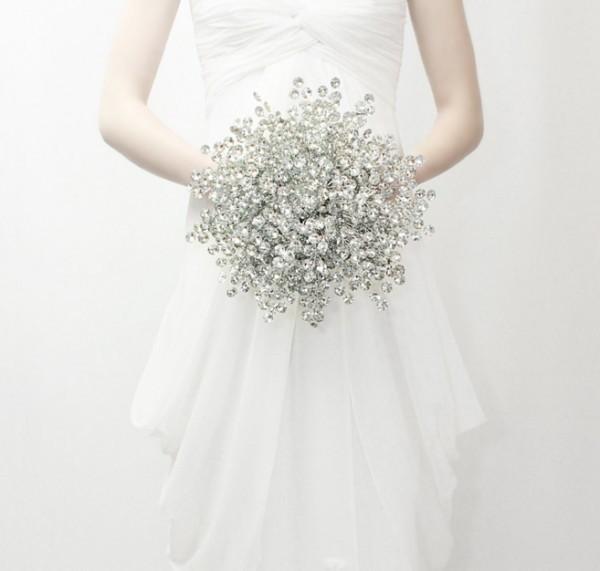 冬日元素搭配 10束最美冬季新娘手捧花