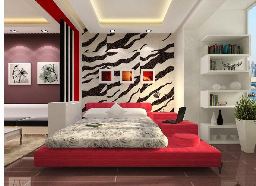 45平方米两室一厅家庭装修设计