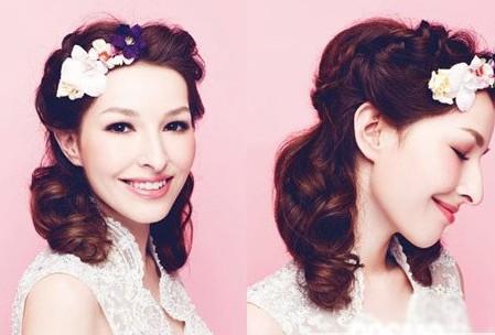2014年新娘流行发型