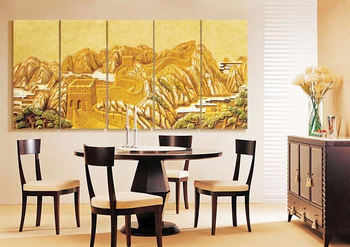 商务空间墙体装饰案例