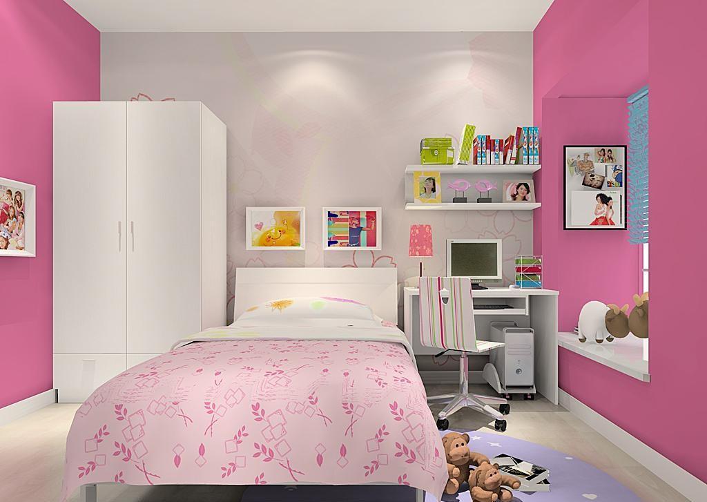 女生房间卧室设计图梦幻展示