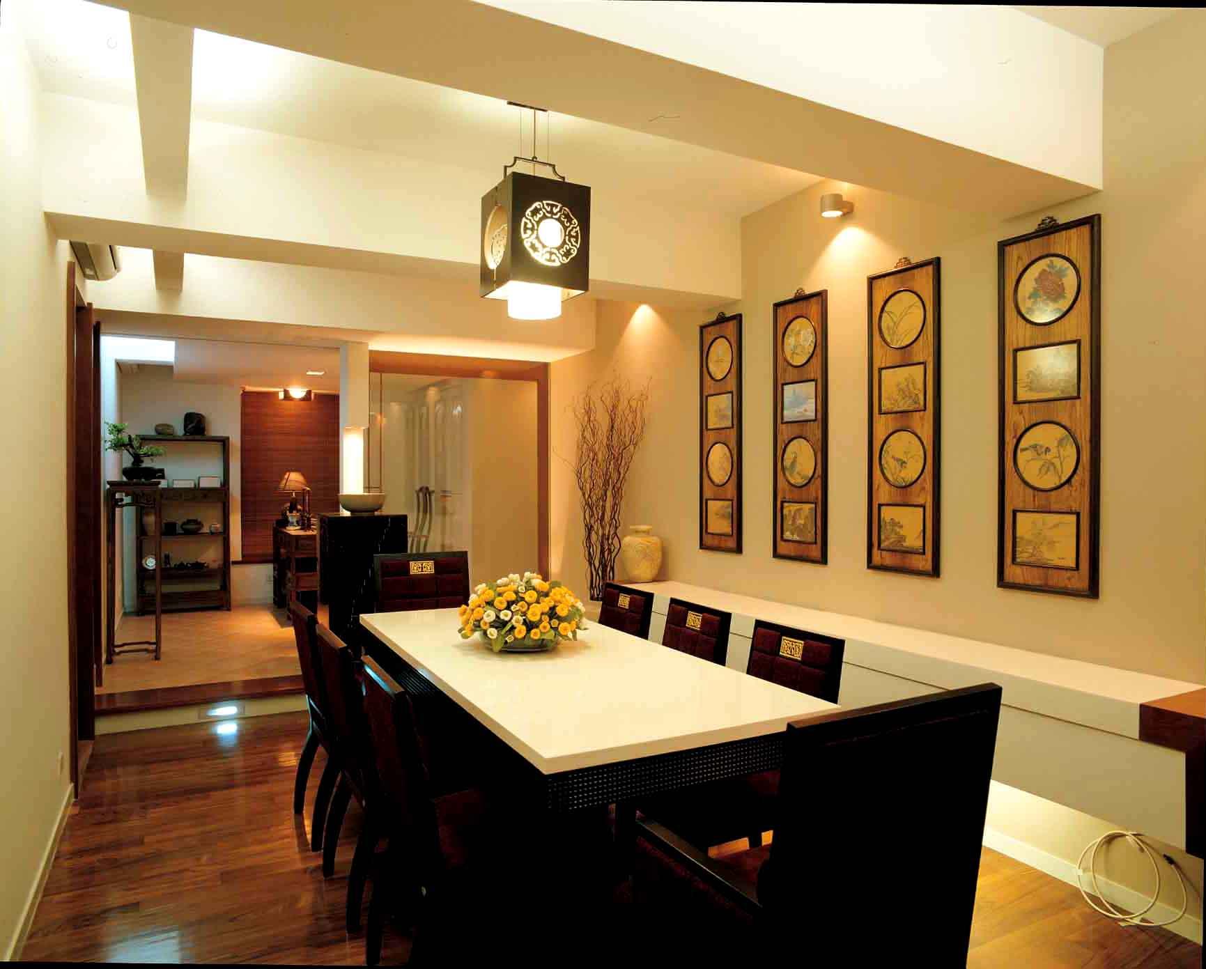 清室内装修效果图欣赏 餐厅 家居街 门头沟 在