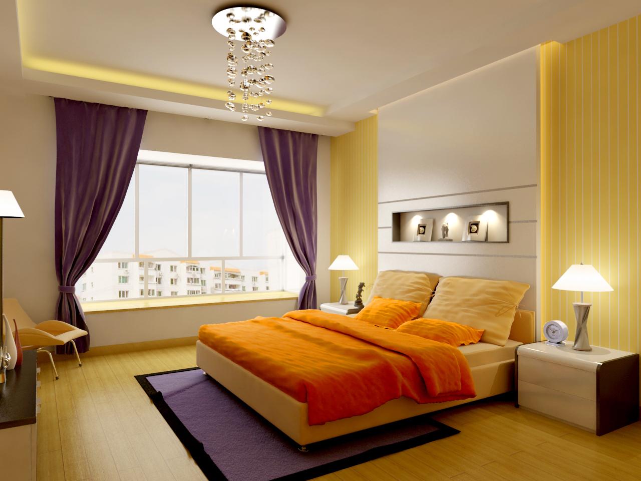 高清室内装修效果图欣赏 卧室