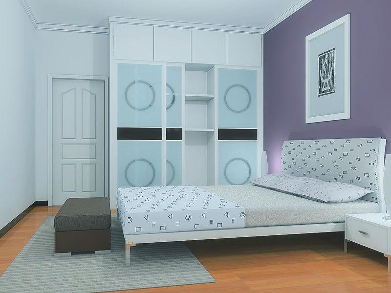 高清室内装修效果图欣赏 卧室 家居街 门头沟