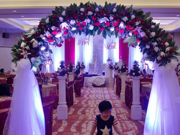 婚礼舞台设计图 简洁 欧式展示