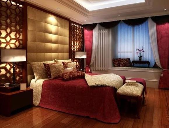 玫瑰花布置婚房间图片图片