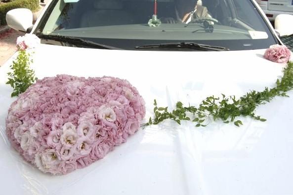陇西婚车装饰图片