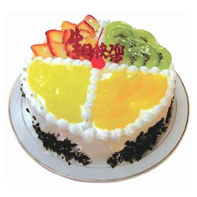 仅需¥65元即享原价¥136元麦香园12寸两层蛋糕一个,节假日通用,真实