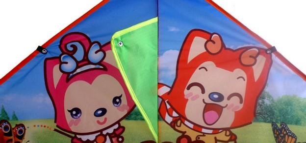 儿童手绘风筝