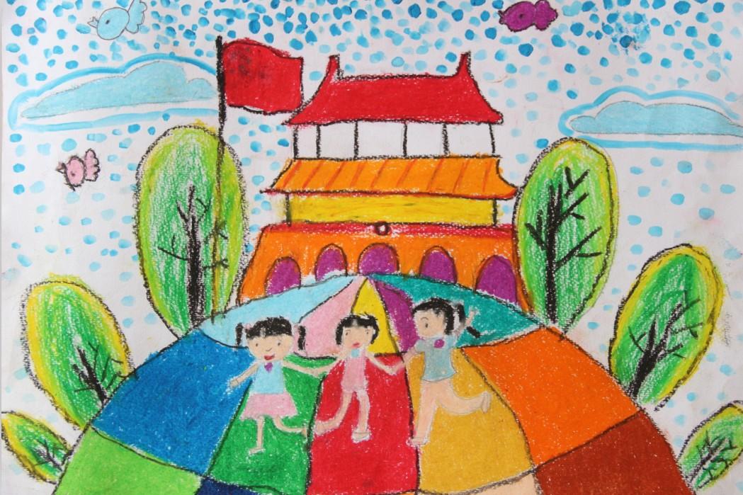 """《美丽家园》 刘杺亦_""""香格里拉""""杯""""中国梦家乡美""""县."""