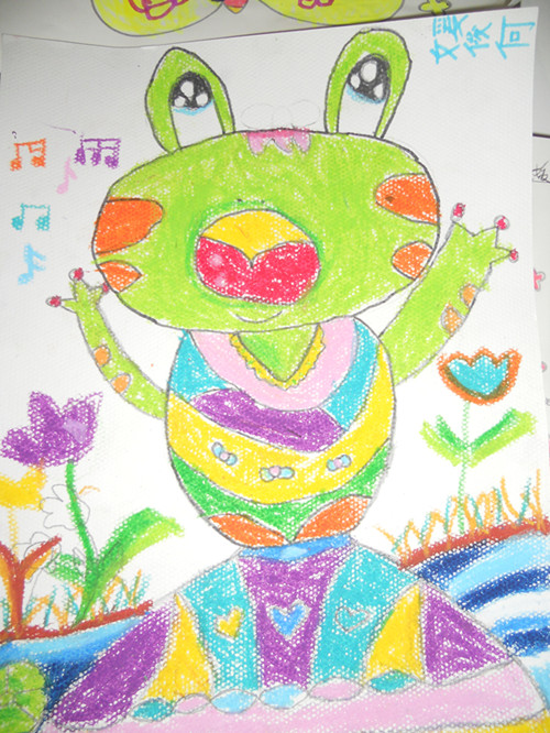 >> 网站首页               让孩子初步运用油画棒感知 渐变色的画法!
