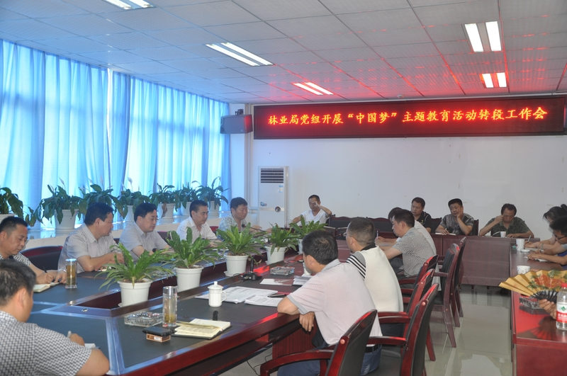 """林业局积极开展""""中国梦""""主题教育活动"""