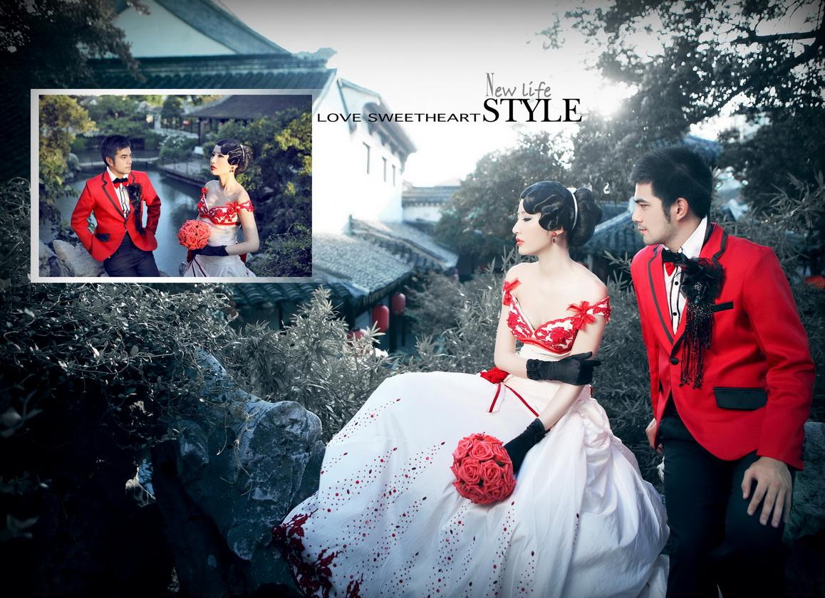 淅川台北莎罗婚纱摄影
